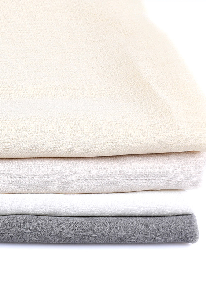 100% Polyester linen-look hot selling hotel window sunscreen sheer curtain fabric