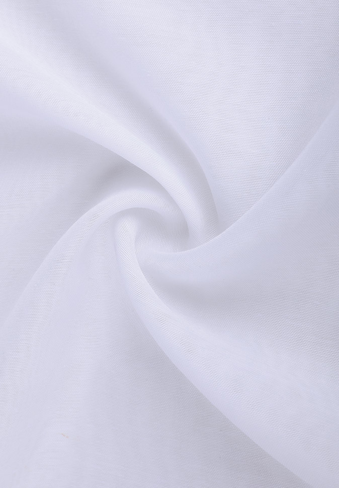 100% Polyester with fine texture soft hand and good permeability plain woven sheer drapery fabric