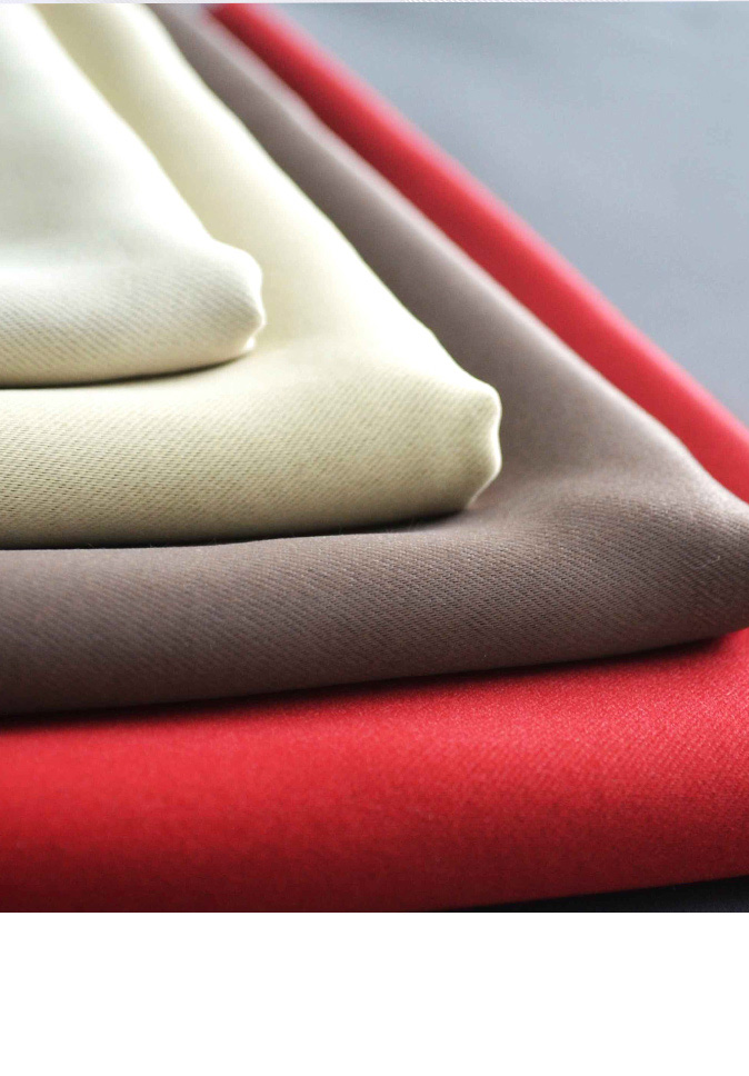 New Style Fashion Inherent Flame Retardant 100% Polyester High Precision Blackout Curtain Fabric Suppliers
