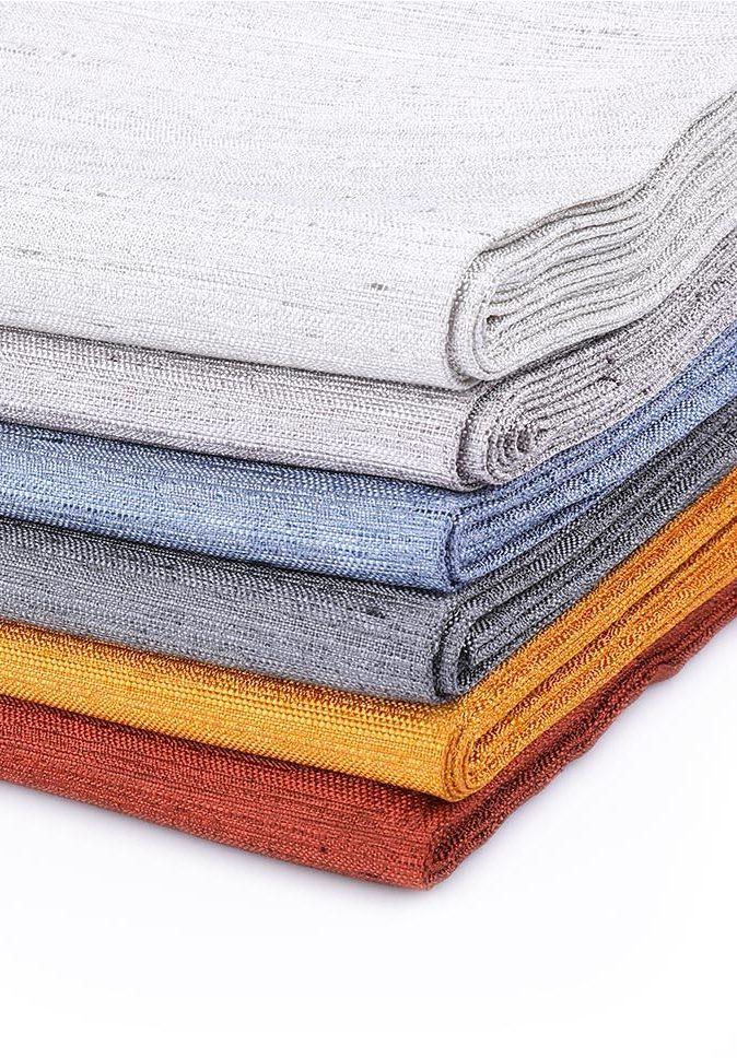 100% Polyester indoor modern jacquard inherent flame retardant curtain fabric
