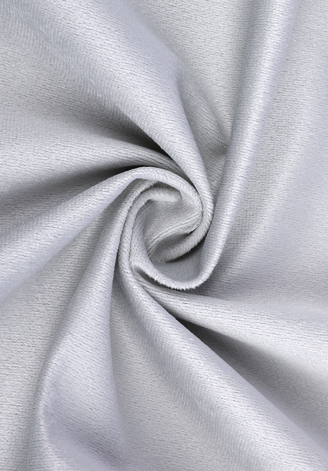 100% Polyester high-end china soft deliciously thick velour stage brown curtain fabric