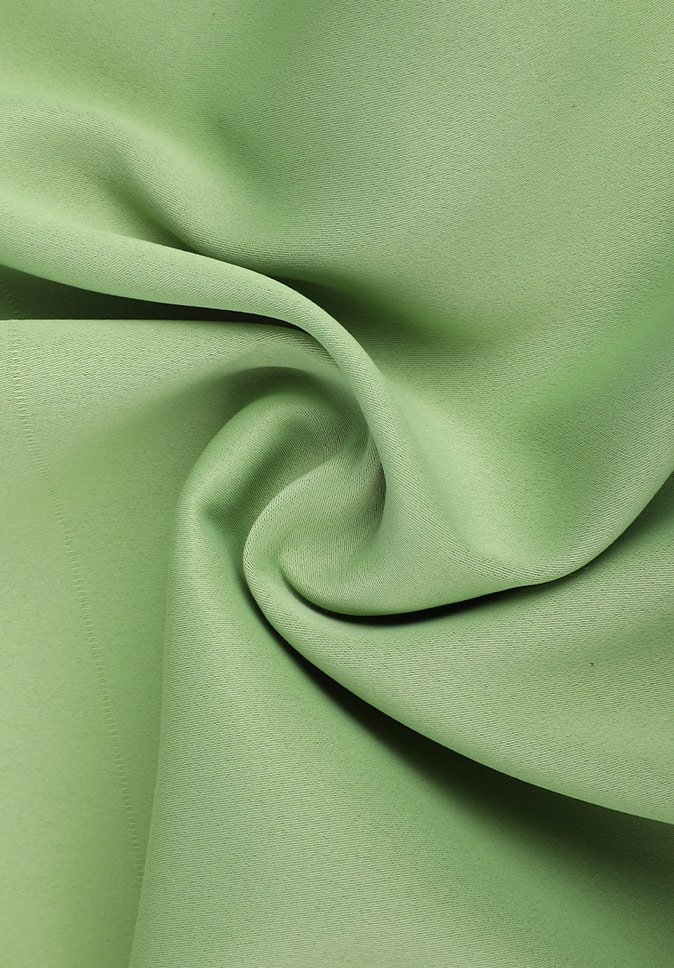 100% Polyester inherent flame retardant chemical resistance portable blackout blinds fabric