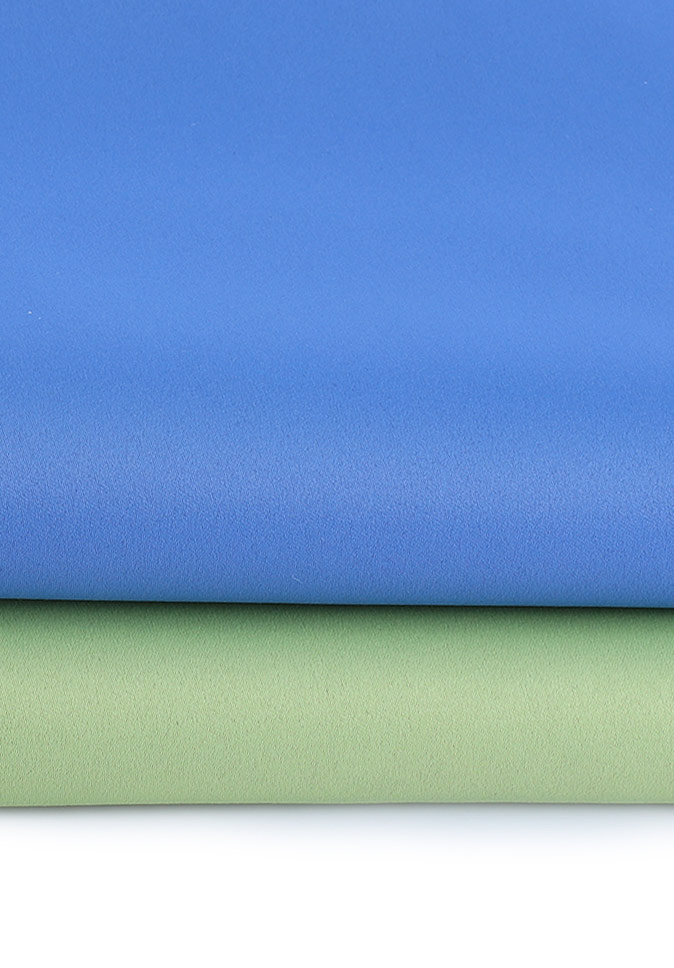 100% Polyester high precision double-sided satin blackout blind fabric
