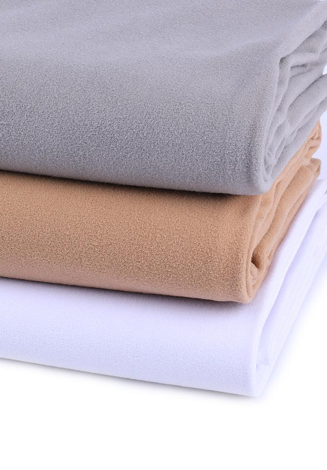 Sample product preferential price plain inherent flame retardant 100% polyester stereo feeling velvet
