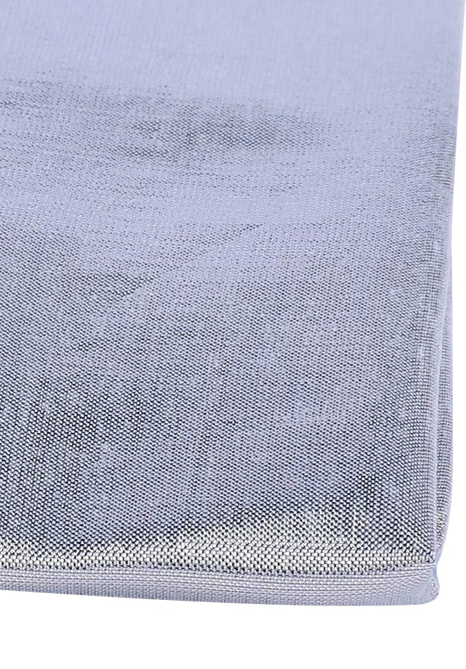 100% Polyester ecological environmental protection 70gsm woven plain cationic silver blinds fabric