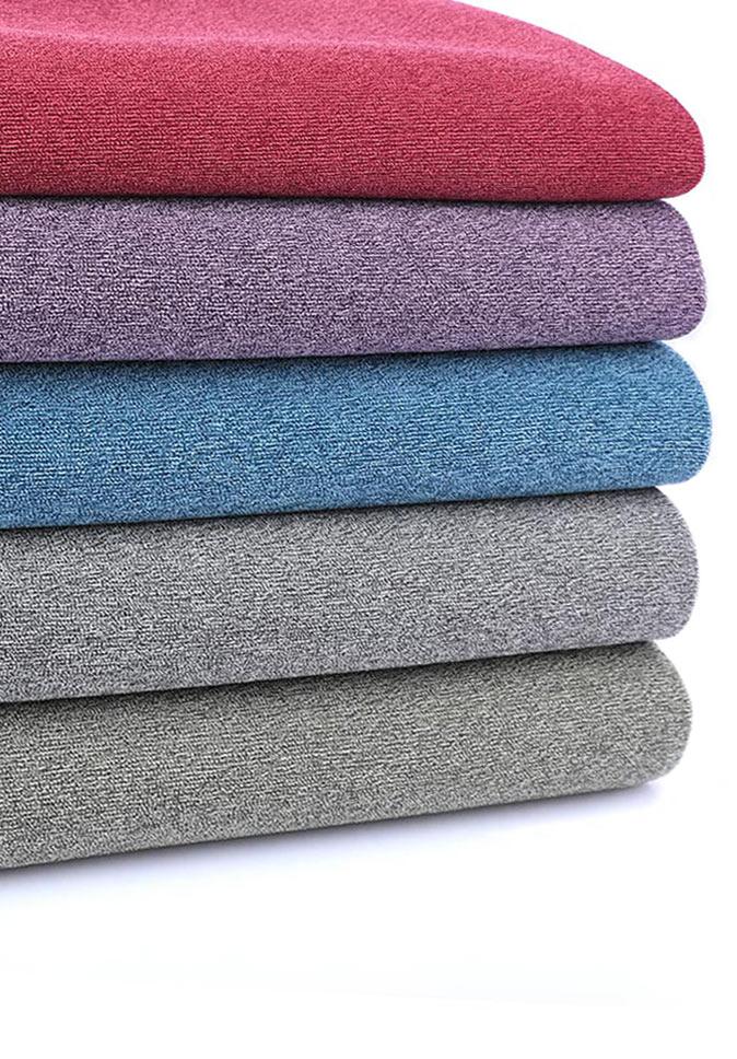 100% polyester environmental friendly 300CM Inherent flame retardant chenille curtain fabric