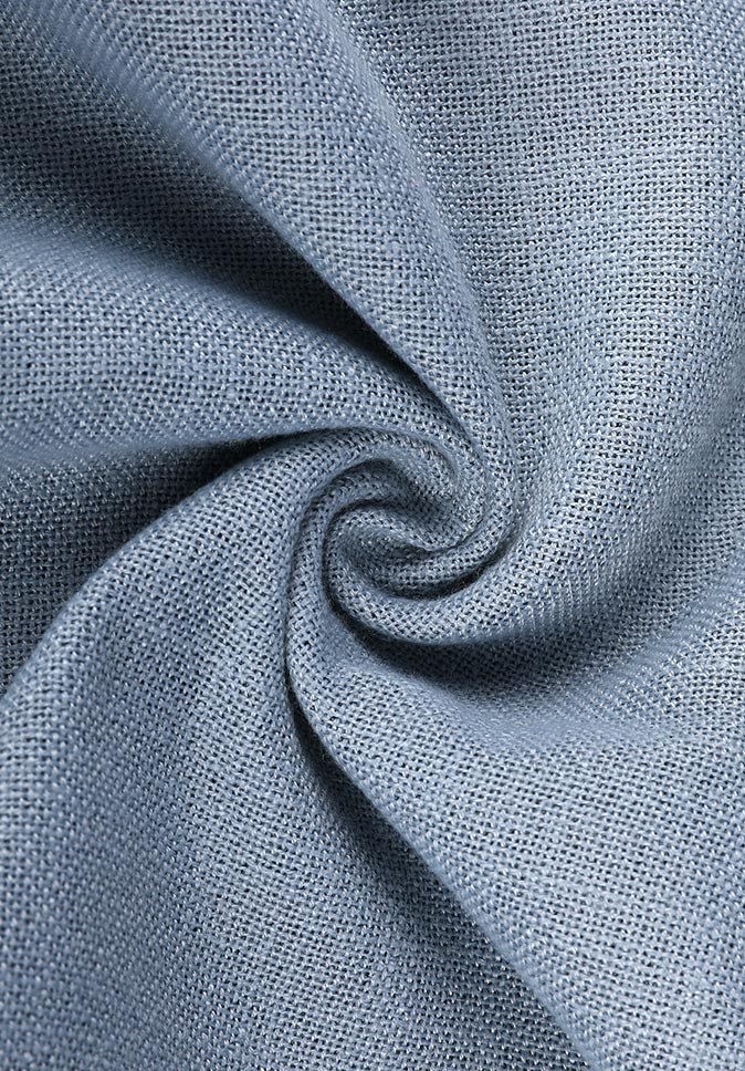 100%Polyester inherent flame retardant double side effect 300CM dimout curtain fabric