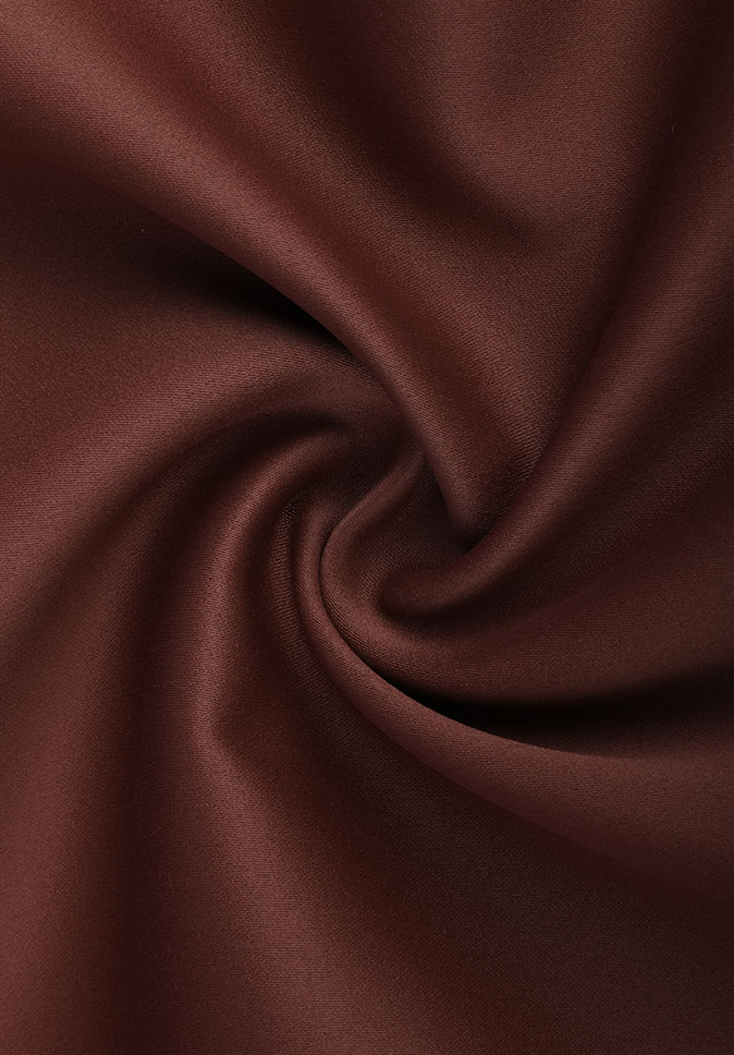100%Polyester royal style inherent flame retardant high precision 300CM satin blackout curtain fabric