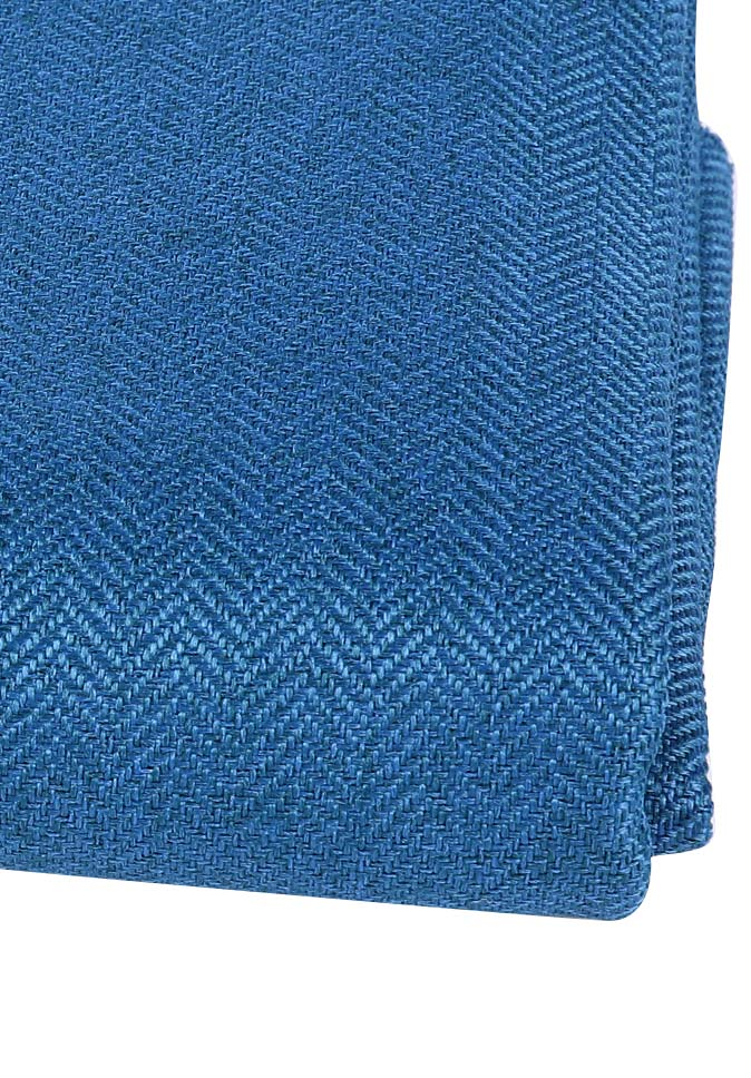100%Polyester herringbone style inherent flame retardant blackout curtain fabric