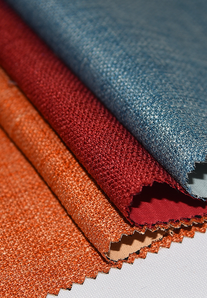 2021 High Quality Flame Retardant Curtain Fabric Linen Dimout Curtain Fabric Supplier