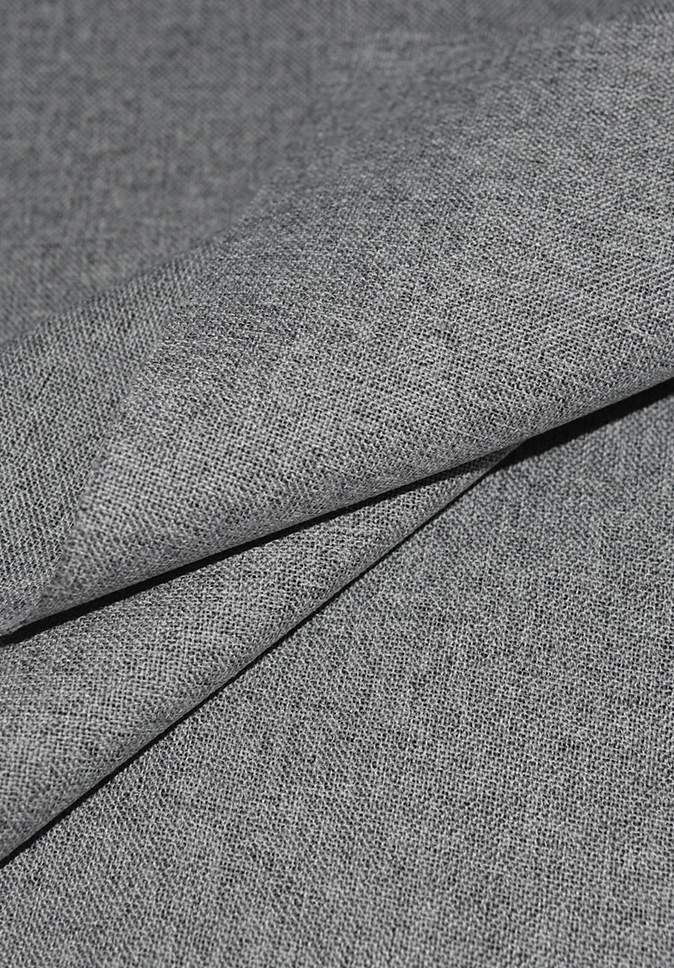 PolyesterCurtainFabric Linen-Look Blackout Fabric Coating Modern Simple LivingRoomCurtainFabric For Office