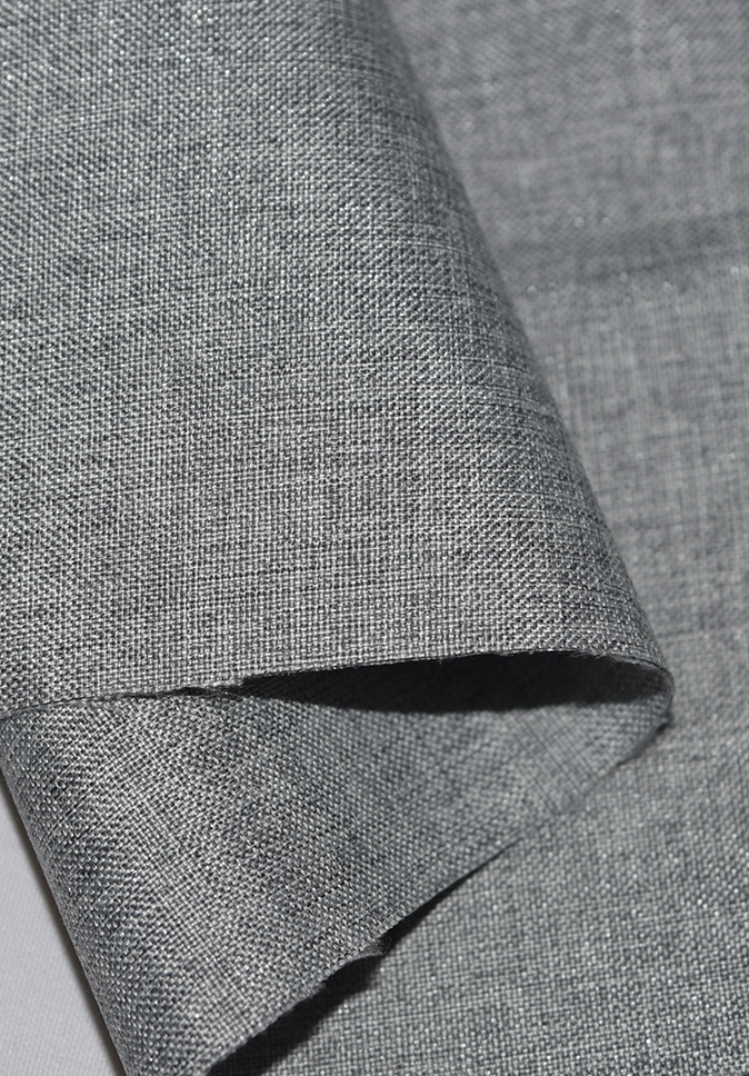 Curtain Cloth Hotel Use Plain Fireproof Polyester Blackout Curtain Fabric