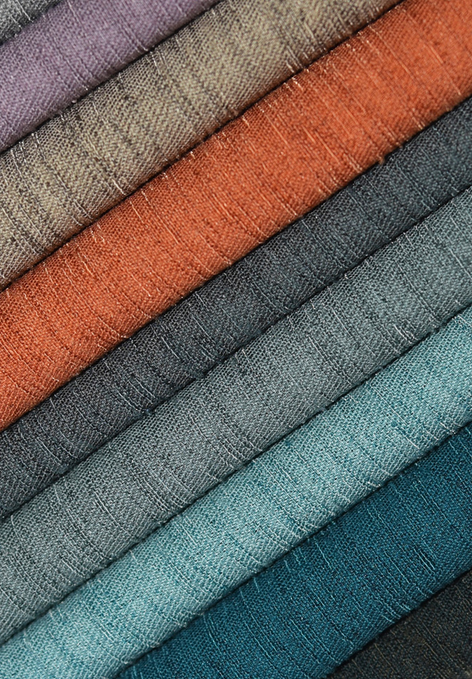 High Quality 100% Polyester IFR Fabric For  Home Textile Curtain Fabric